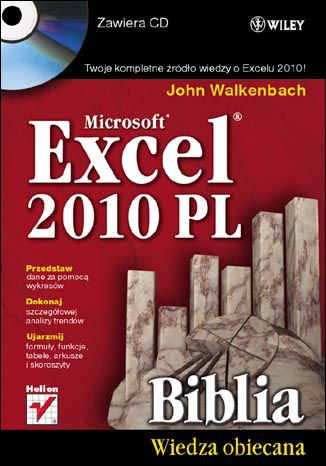 Okładka książki/ebooka Excel 2010 PL. Biblia
