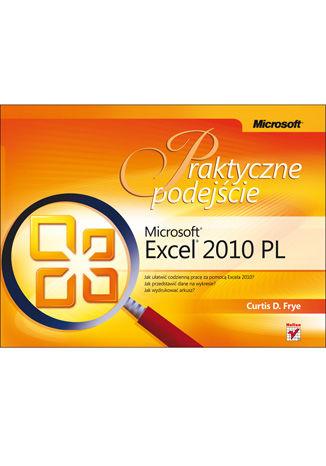 Okładka książki Microsoft Excel 2010 PL. Praktyczne podejście