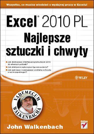 Okładka książki/ebooka Excel 2010 PL. Najlepsze sztuczki i chwyty. Vademecum Walkenbacha