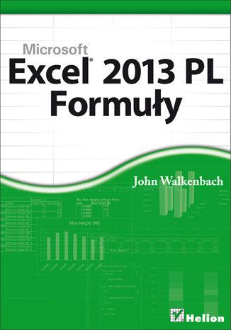 Okładka książki Excel 2013 PL. Formuły
