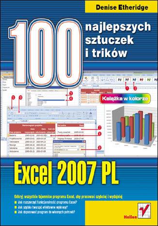 Okładka książki Excel 2007 PL. 100 najlepszych sztuczek i trików