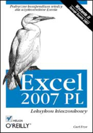 Okładka książki/ebooka Excel 2007 PL. Leksykon kieszonkowy. Wydanie II