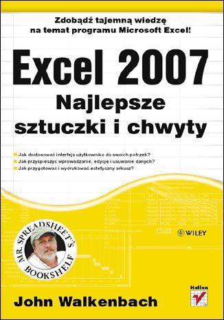 Okładka książki/ebooka Excel 2007. Najlepsze sztuczki i chwyty