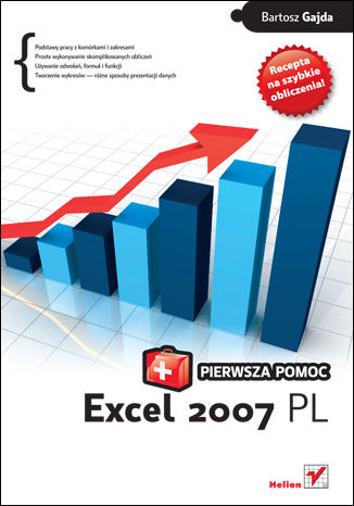 Okładka książki/ebooka Excel 2007 PL. Pierwsza pomoc
