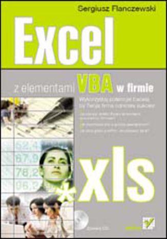 Okładka książki/ebooka Excel z elementami VBA w firmie