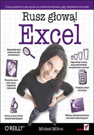 Okładka książki/ebooka Excel. Rusz głową!