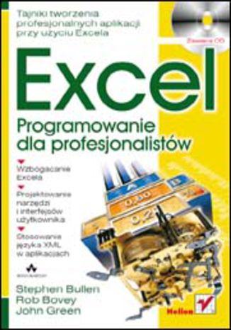Okładka książki/ebooka Excel. Programowanie dla profesjonalistów