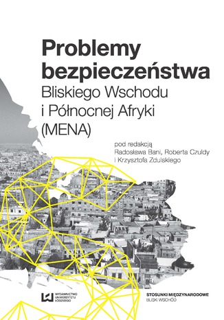 Okładka książki/ebooka Problemy bezpieczeństwa Bliskiego Wschodu i Północnej Afryki (MENA)