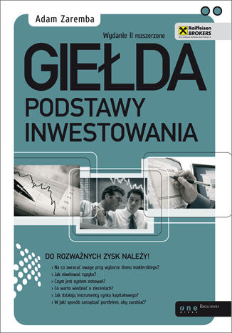 Okładka książki/ebooka Giełda. Podstawy inwestowania. Wydanie II rozszerzone