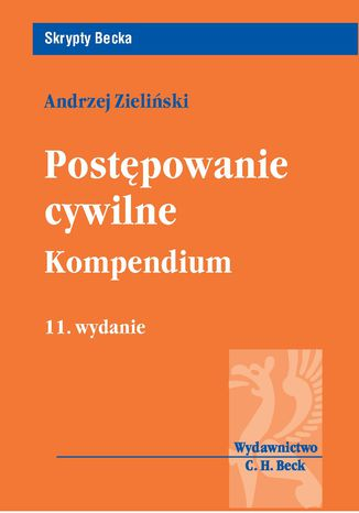 Okładka książki/ebooka Postępowanie cywilne Kompendium