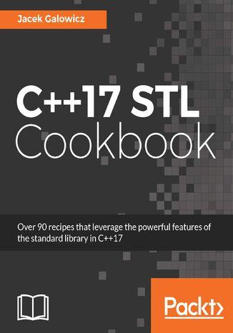 Okładka książki/ebooka C++17 STL Cookbook