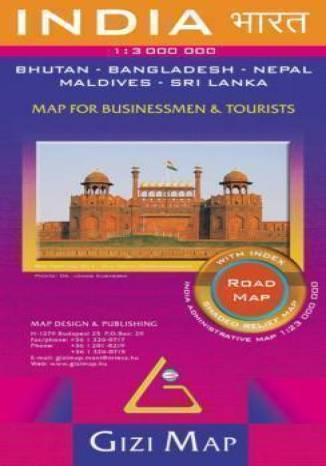 Okładka książki/ebooka Indie. Mapa drogowa