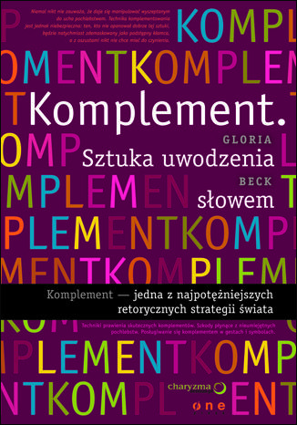 Okładka książki/ebooka Komplement. Sztuka uwodzenia słowem