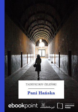 Okładka książki/ebooka Pani Hańska