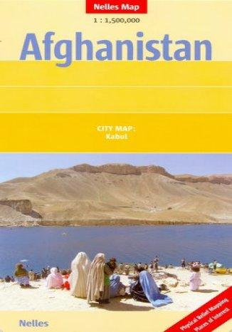 Okładka książki/ebooka Afganistan. Mapa