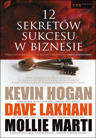 Okładka książki/ebooka 12 sekretów sukcesu w biznesie