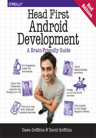 Okładka książki Head First Android Development. A Brain-Friendly Guide. 2nd Edition