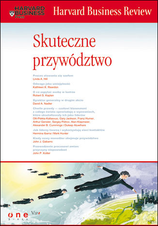 Okładka książki/ebooka Harvard Business Review. Skuteczne przywództwo