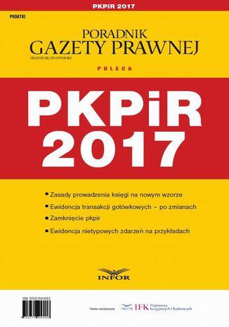 Okładka książki/ebooka PKPiR 2017