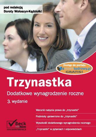 Okładka książki/ebooka Trzynastka Dodatkowe wynagrodzenie roczne