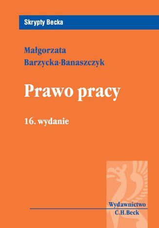 Okładka książki/ebooka Prawo pracy. Wydanie 16