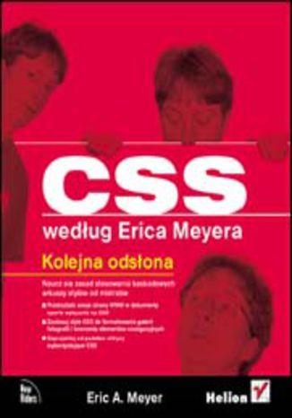 Okładka książki/ebooka CSS według Erica Meyera. Kolejna odsłona