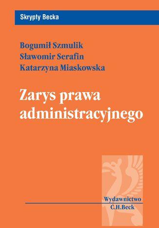 Okładka książki/ebooka Zarys prawa administracyjnego
