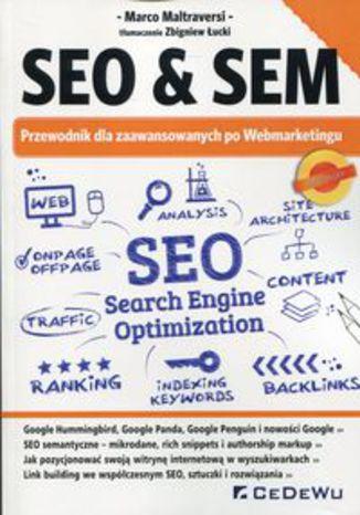 Okładka książki/ebooka SEO & SEM Przewodnik dla zaawansowanych po Webmarketingu
