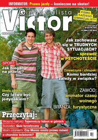 Okładka książki/ebooka Victor Gimnazjalista nr 14 (394)