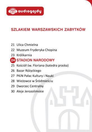 Okładka książki/ebooka Stadion Narodowy. Szlakiem warszawskich zabytków
