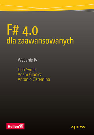 Okładka książki F# 4.0 dla zaawansowanych. Wydanie IV