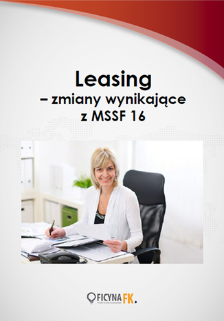 Okładka książki/ebooka Leasing - zmiany wynikające z MSSF 16