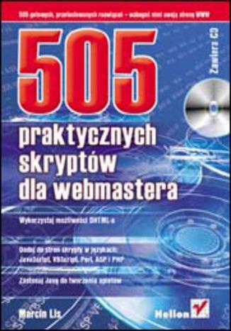 Okładka książki/ebooka 505 praktycznych skryptów dla webmastera