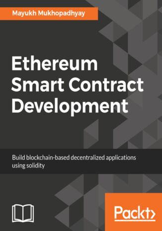 Okładka książki/ebooka Ethereum Smart Contract Development