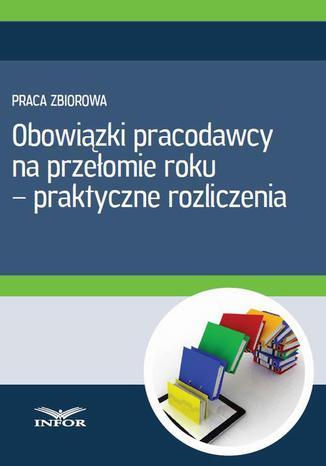Okładka książki/ebooka Obowiązki pracodawcy na przełomie roku