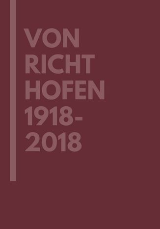 Okładka książki/ebooka Von Richthofen 1918-2018