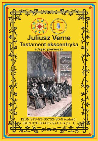 Okładka książki/ebooka Testament ekscentryka. Część 1