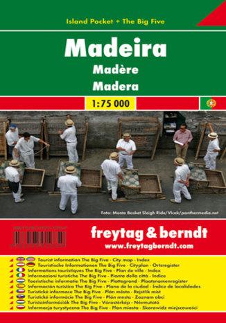 Okładka książki/ebooka Madera. Mapa Freytag & Berndt / 1:75 000