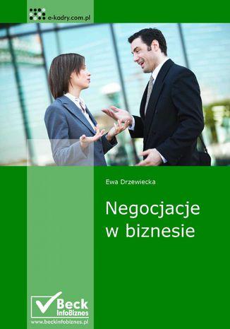 Okładka książki/ebooka Negocjacje w biznesie