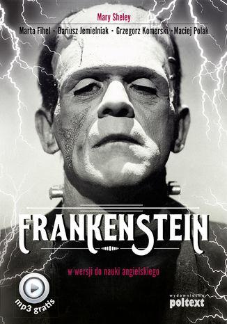 Okładka książki/ebooka Frankenstein w wersji do nauki angielskiego