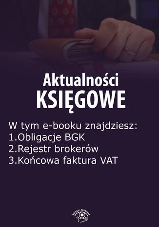 Okładka książki/ebooka Aktualności księgowe, wydanie październik 2014 r