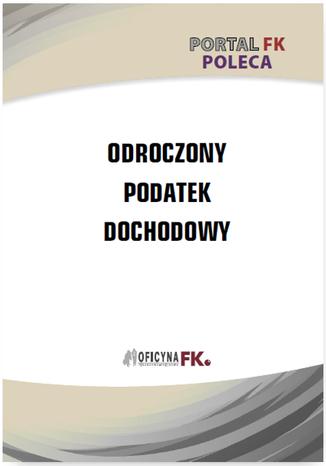 Okładka książki/ebooka Odroczony podatek dochodowy