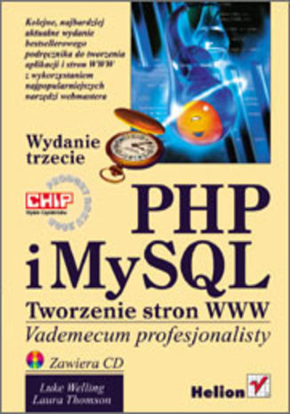 Okładka książki/ebooka PHP i MySQL. Tworzenie stron WWW.  Vademecum profesjonalisty. Wydanie trzecie