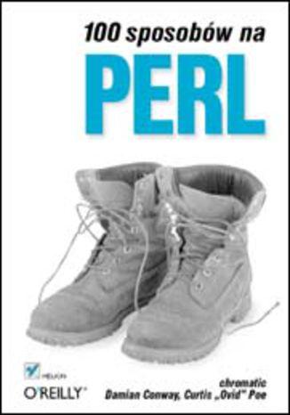 Okładka książki/ebooka 100 sposobów na Perl