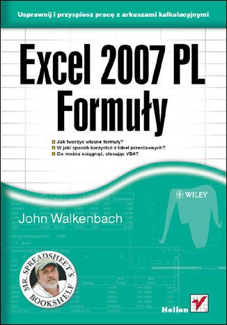 Okładka książki/ebooka Excel 2007 PL. Formuły
