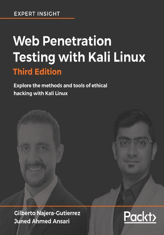 Okładka książki/ebooka Web Penetration Testing with Kali Linux - Third Edition
