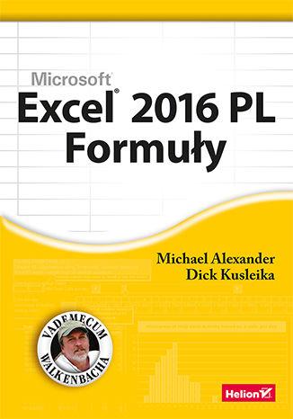 Okładka książki/ebooka Excel 2016 PL. Formuły