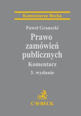 Okładka książki/ebooka Prawo zamówień publicznych. Komentarz