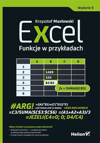 Okładka książki/ebooka Excel. Funkcje w przykładach. Wydanie II