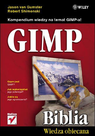Okładka książki GIMP Biblia